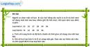 Câu 5.17 trang 179 SBT Đại số 10 Nâng cao