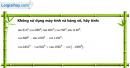 Câu 6.34 trang 201 SBT Đại số 10 Nâng cao