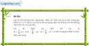 Câu 6.36 trang 201 SBT Đại số 10 Nâng cao