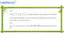 Câu 6.42 trang 204 SBT Đại số 10 Nâng cao