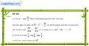 Câu 6.43 trang 204 SBT Đại số 10 Nâng cao