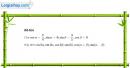 Câu 6.44 trang 204 SBT Đại số 10 Nâng cao