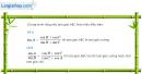 Câu 6.56 trang 206 SBT Đại số 10 Nâng cao