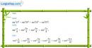 Câu 6.60 trang 206 SBT Đại số 10 Nâng cao