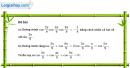 Câu 6.65 trang 207 SBT Đại số 10 Nâng cao