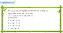 Bài 1, 2, 3, 4, 5, 6 trang 123, 124 SBT Hình học 10 Nâng cao