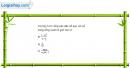 Câu 4.1 trang 133 sách bài tập Đại số và Giải tích 11 Nâng cao