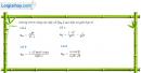 Câu 4.3 trang 133 sách bài tập Đại số và Giải tích 11 Nâng cao