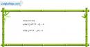Câu 4.6 trang 134 sách bài tập Đại số và Giải tích 11 Nâng cao