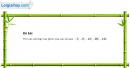 Bài 1 trang 140 sgk giải tích 12