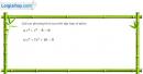 Bài 3 trang 140 sgk giải tích 12
