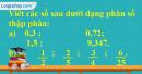 Bài 1 trang 151 sgk toán 5