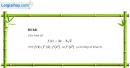 Câu 5.9 trang 180 sách bài tập Đại số và Giải tích 11 Nâng cao