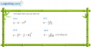 Câu 5.10 trang 180 sách bài tập Đại số và Giải tích 11 Nâng cao