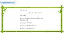 Câu 5.13 trang 180 sách bài tập Đại số và Giải tích 11 Nâng cao