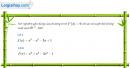 Câu 5.15 trang 181 sách bài tập Đại số và Giải tích 11 Nâng cao
