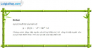 Câu 5.18 trang 181 sách bài tập Đại số và Giải tích 11 Nâng cao