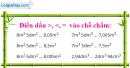 Bài 1 trang 155 sgk toán 5 ôn tập về đo