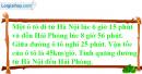 Bài 4 trang 166 sgk toán 5