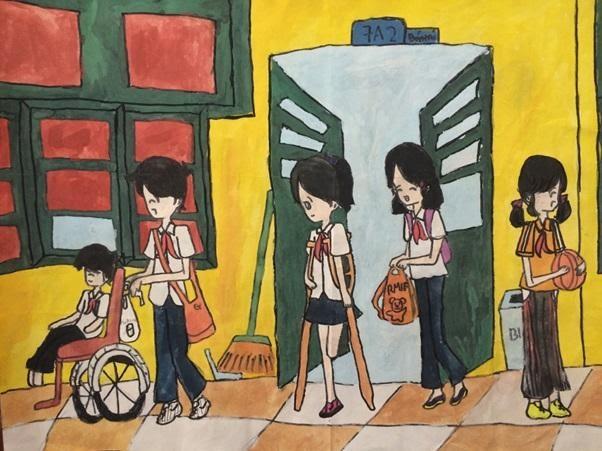 Học đường an toàn qua lăng kính trẻ thơ   Trường THCS & THPT Nguyễn Tất  Thành - Hà Nội
